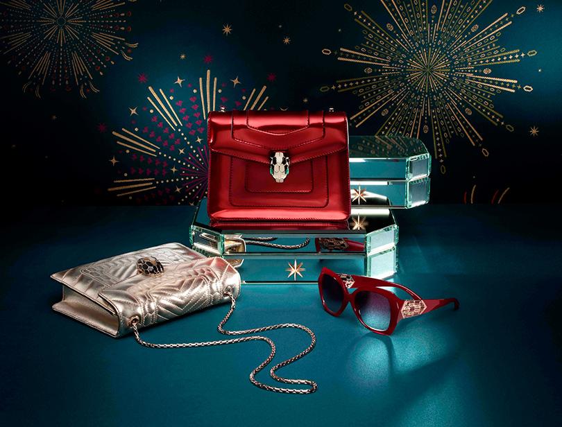 Новый год: праздник кнам приходит— самые красивые рождественские витрины мира. Bvlgari