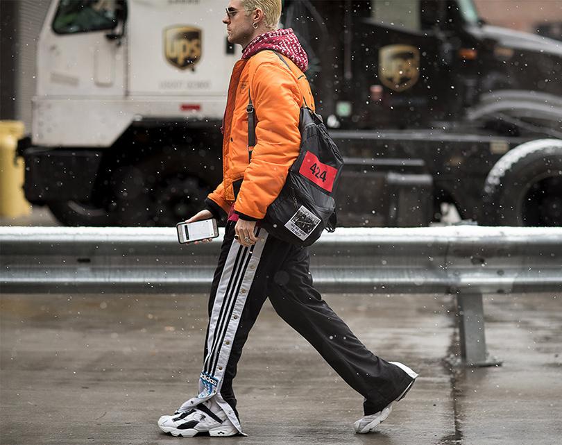 Men inStyle: уличный стиль наНеделе мужской моды вНью-Йорке. Fashion-редактор Нико Амарка