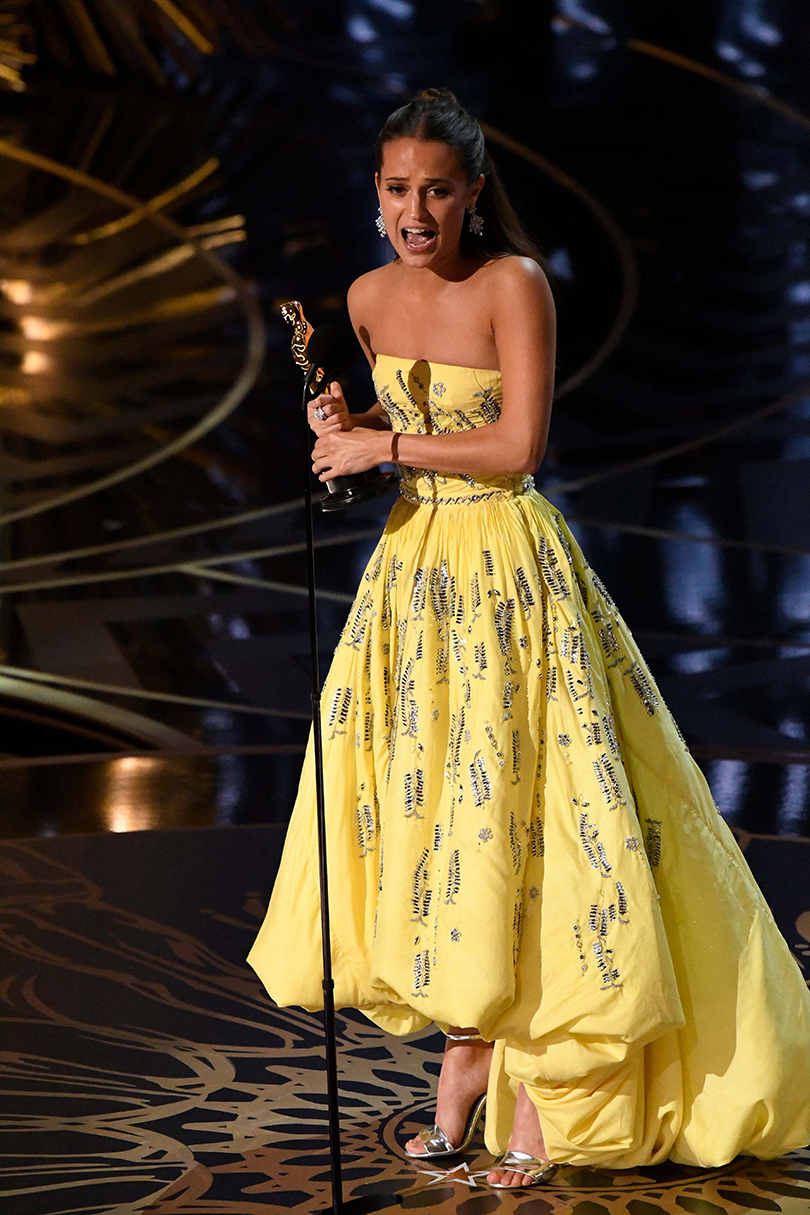 Oscars Special 2016: Лучшая актриса второго плана— Алисия Викандер