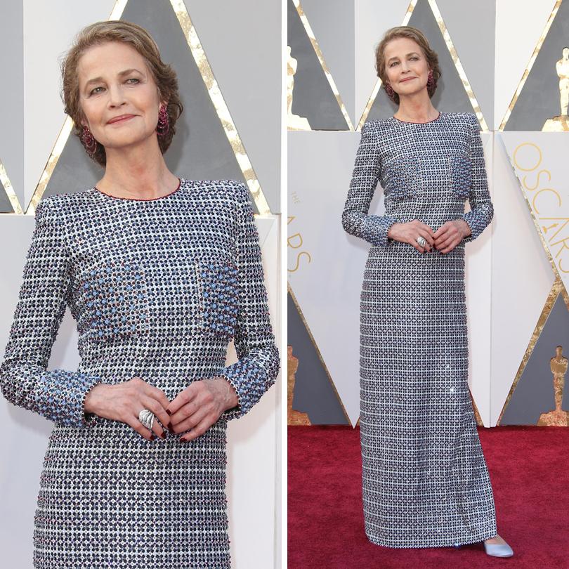 Oscars Special 2016: Шарлотта Рэмплинг в Armani Prive