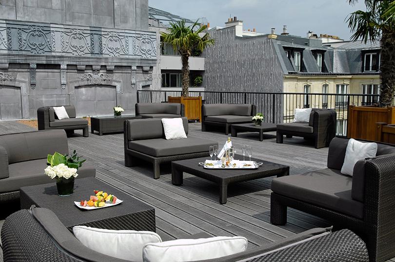 Идея на майские: весенний Париж, Hotel Le Fouquet's Paris