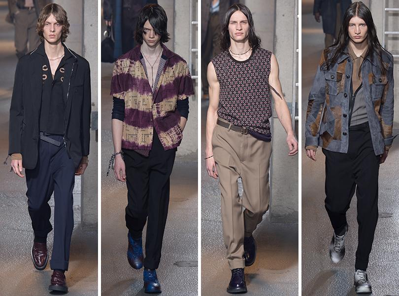 Lanvin. Men in Style: первый план. Лучшие показы с Недели мужской моды в Париже