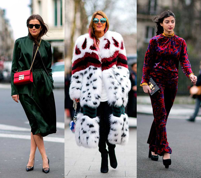 Уличный стиль наParisFashionWeek, 2016. Модный блогер Дарья Баранник, Анна Делло Руссо, блогер Мэлани Дармон