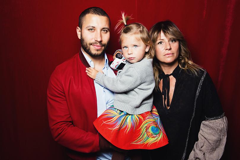 Расим и Алла Акперовы с дочерью