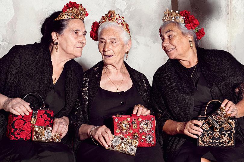 Психология успеха: «позднее зажигание»— люди второй половины жизни. Рекламная кампания Dolce & Gabbana, весна-лето 2015