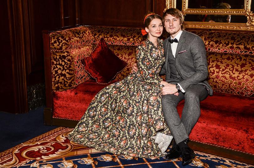 Прима Большого театра Евгения Образцова с мужем, скульптором Андреем Коробцовым