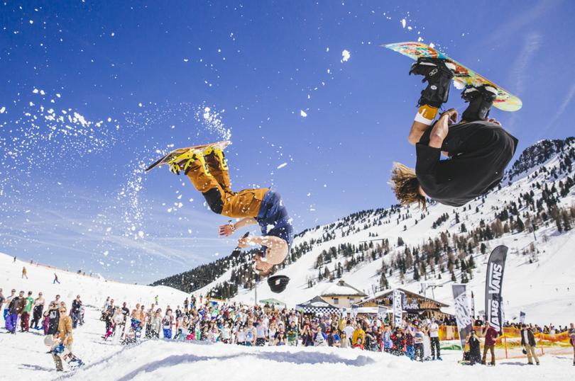 Где кататься на горных лыжах в мае: Майрхофен, Австрия