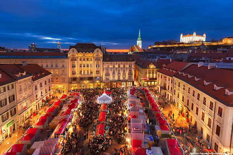 Самые лучшие рождественские базары Европы: Братислава