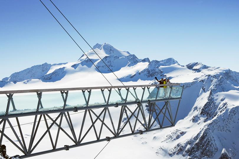 Где кататься на горных лыжах в мае: Зельден, Австрия