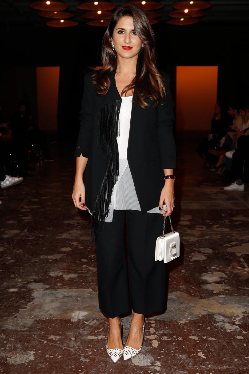 Показ BOSS произвел фурор на Неделе моды в Нью-Йорке: Жеральдин Накаш