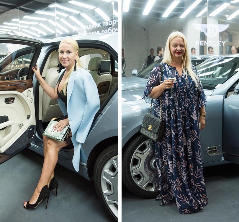 Светская хроника: премьера новых моделей Bentley на выставке Bentley. Be Extraordinary. Екатерина Одинцова. Нелли Константинова