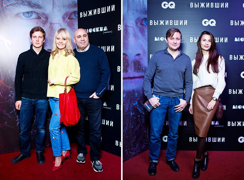 Валерия и Иосиф Пригожин; Артем Михалков