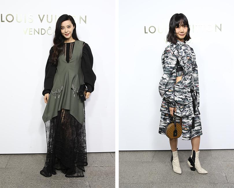 Открытие бутика Louis Vuitton наВандомской площади. Фань Бинбин. Пэ Ду-на