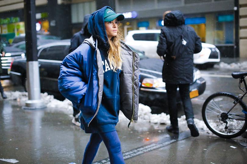 Street Style: уличный стиль наНеделе моды вНью-Йорке. Мирослава Дума