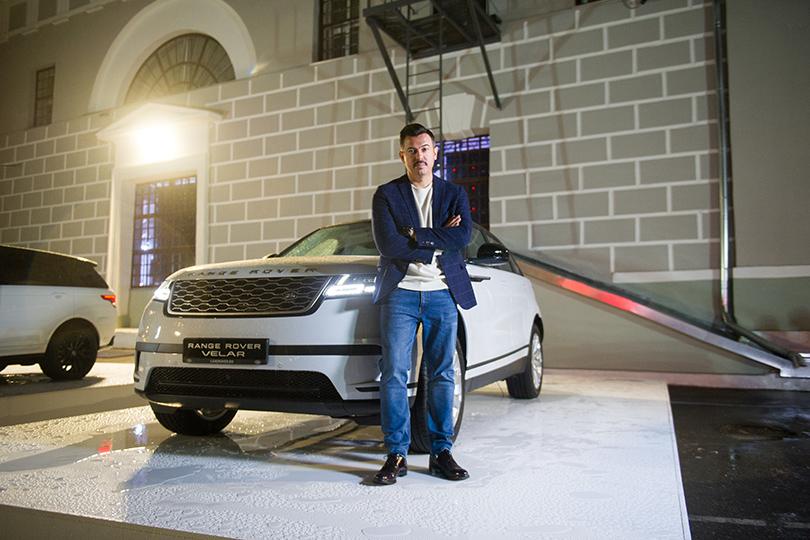 Российская премьера Range Rover Velar вМузее Москвы: Денис Симачев