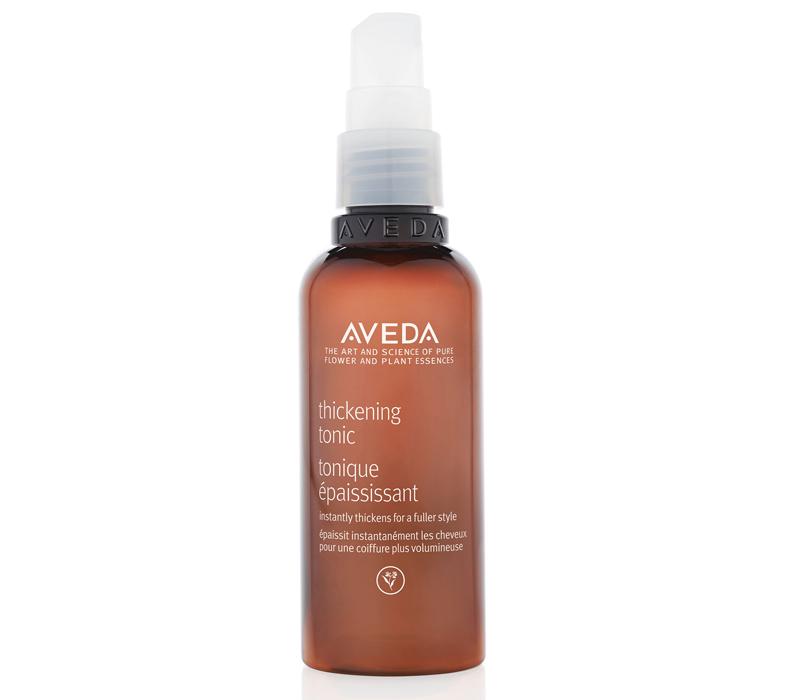 Идеальная косметичка: 7 средств для волос на все случаи жизни. Наслучай, когда волосам нужен объем: Aveda Thickening Tonic