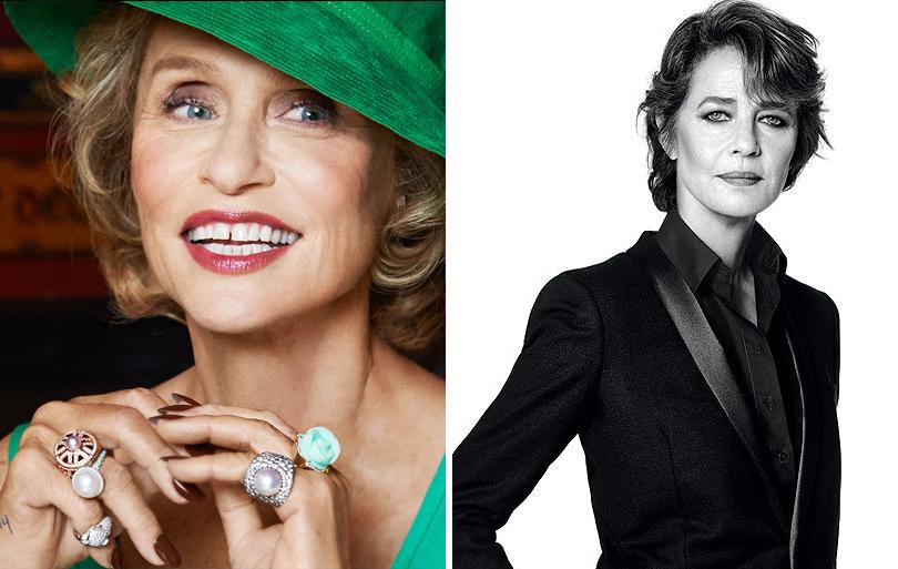 Total Beauty: 63-летняя Кристи Бринкли в Sports Illustrated и другие модели «50+». Лорен Хаттон для J.Crew, Шарлотта Рэмплинг для Nars