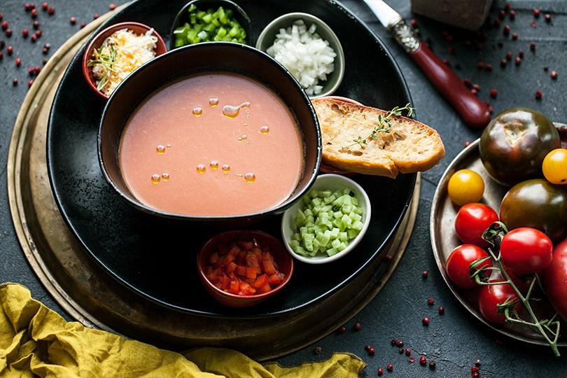 Всвоей тарелке: холодные супы вресторанах Москвы. «Север-Юг»