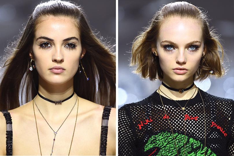 Как повторить макияж иукладку споказа Dior, если вынеПитер Филипс инеГвидо Палау. Волосы