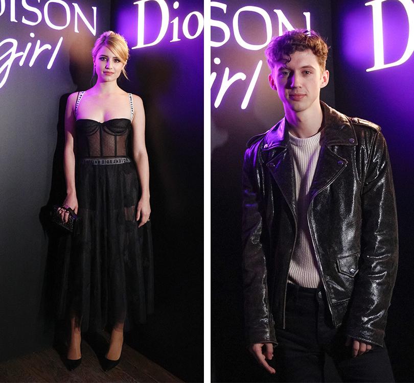 Total Beauty: Белла Хадид иКамиль Роу навечеринке Dior Poison Сlub вНью-Йорке. Диана Агрон. Трой Сиван