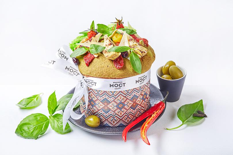 Пасха вмосковских ресторанах: необычные куличи, подарочные корзины ипраздничное меню. «Brasserie Мост»