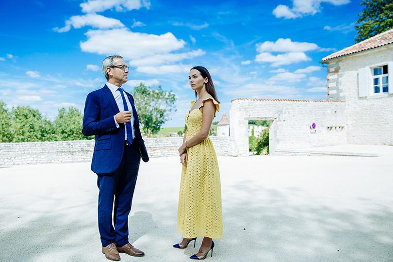 Светский блиц с Владой Покровской: интервью с маэстро купажа Франсуа Тибо в провинции Коньяк