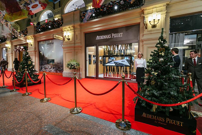 Открытие первого в Москве бутика Audemars Piguet