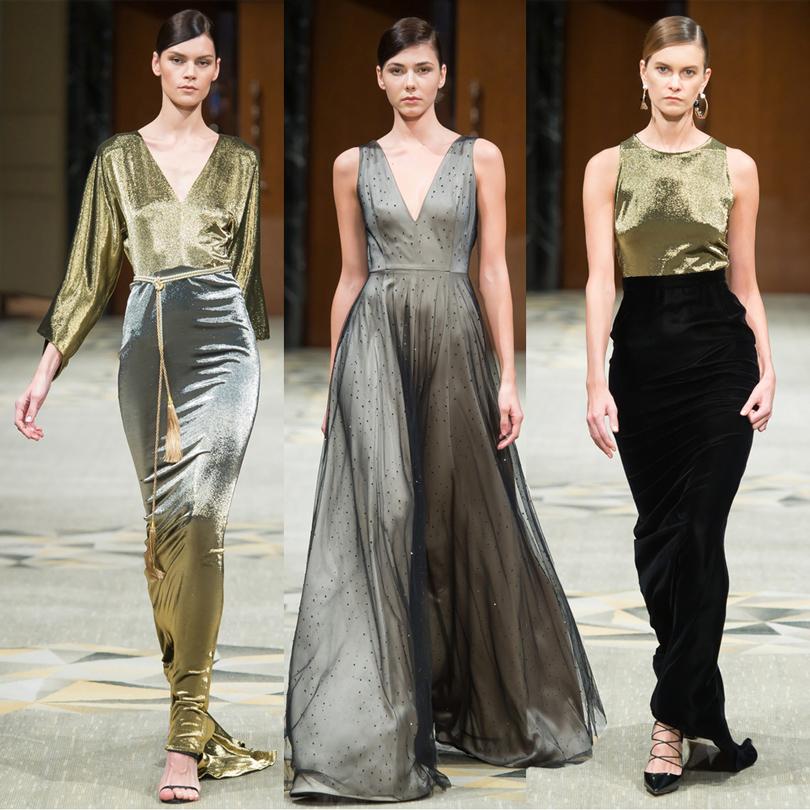 Style Notes: как выбрать платье на выпускной? 8 модных идей от российских дизайнеров: блеск металла, Izeta
