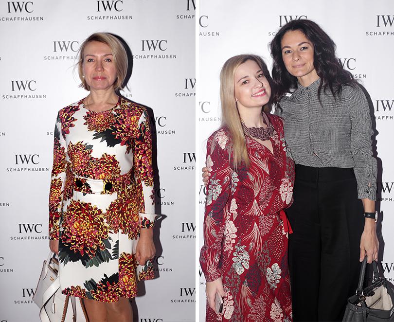 Елена Быкова (IWC Russia) и Юлия Татарская