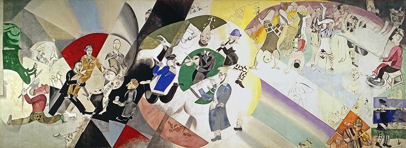 Art & More: шесть фактов о Марке Шагале, или Новые панно художника в Третьяковке.