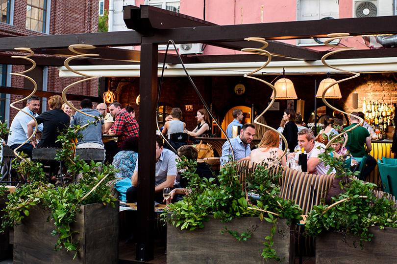 Выходные вгороде: летние веранды московских ресторанов. ILike Wine2.0
