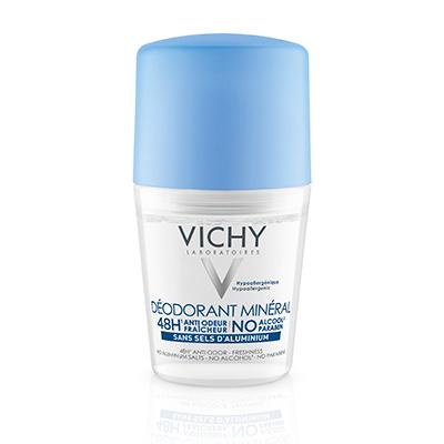 Что нового: 10лучших бьюти-новинок. Минеральный дезодорант Deodorant Mineral, Vichy