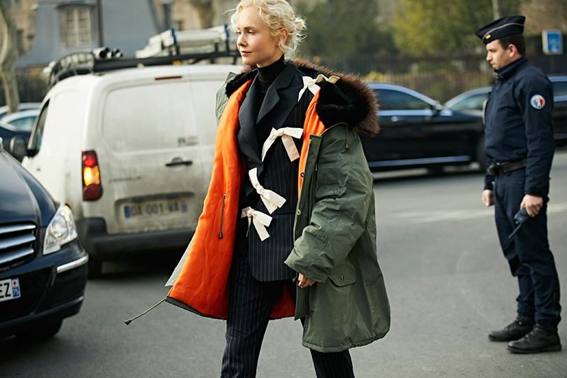 Street-Style: эксклюзивные фотографии с первого дня Недели кутюра в Париже в объективе Ино Ко. Ольга Карпуть