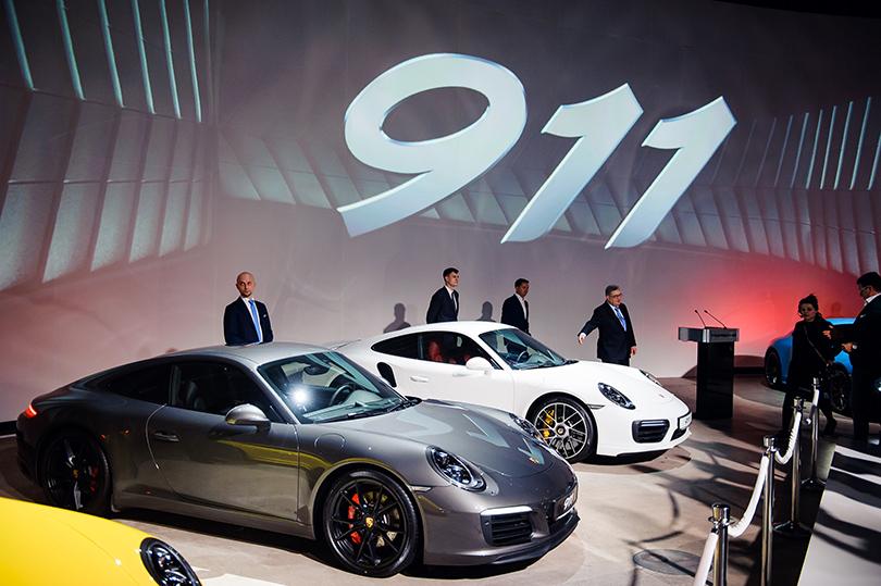 Авто: светская премьера новой модели легендарного Porsche в Москве. Porsche 911
