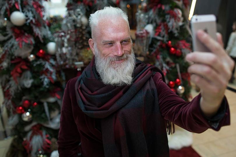 Самый стильный Санта-Клаус