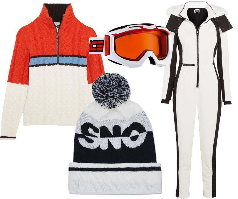 Style Notes: 8стильных образов для горнолыжного курорта налюбой вкус ибюджет. Комбинезон, свитер ишапка— все Topshop Sno, очки Salice