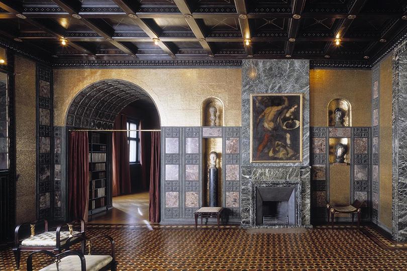 Дом как музей: как оформить интерьер античными скульптурами. Вилла Штука, Мюнхен (Prinzregentenstr., 60)