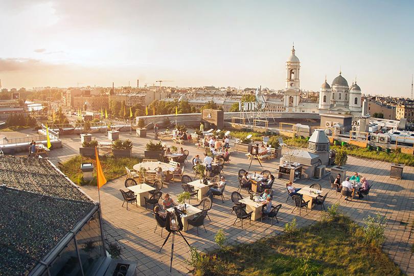 Cемь панорамных террас Санкт-Петербурга. «Макаронники»