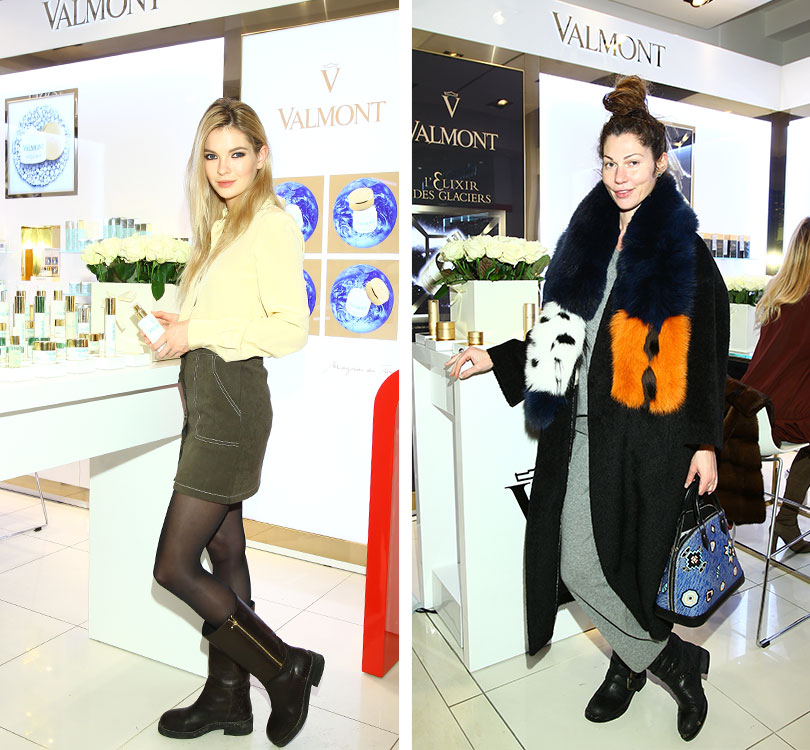 BeautyShopping: вЦУМе открыли корнер Valmont. Наталья Бардо. Евгения Линович