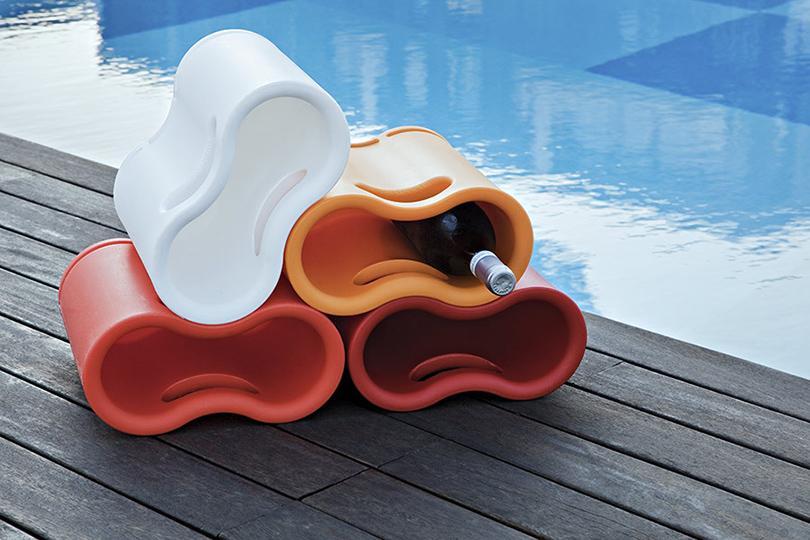 Дизайн & Декор: винные стеллажи и полки-конструкторы — для стильных интерьеров и модных вечеринок. Ameba из коллекции CrousCalogero