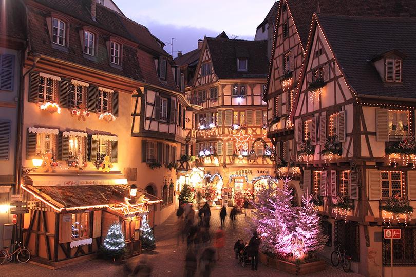 Самые лучшие рождественские базары Европы: Страсбург