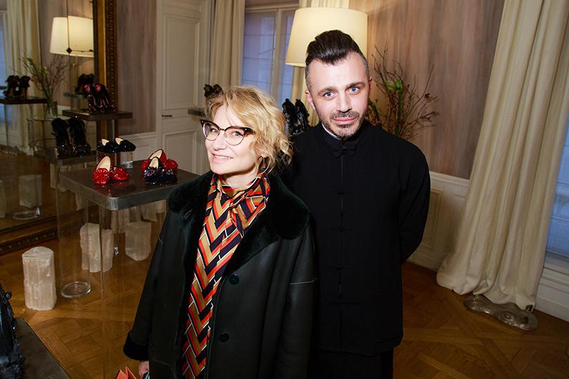 Эвелина Хромченко и Александр Сирадекиан