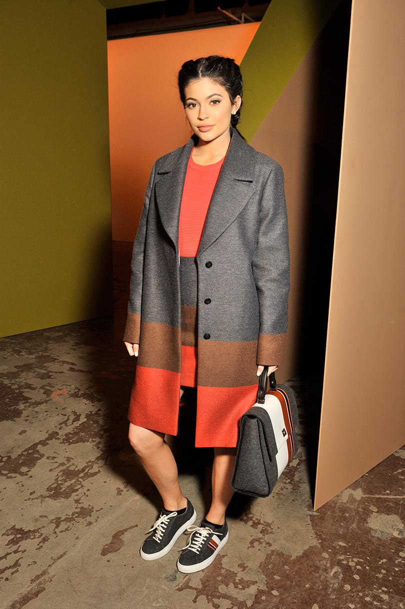 Показ BOSS произвел фурор на Неделе моды в Нью-Йорке: Кайли Дженнер