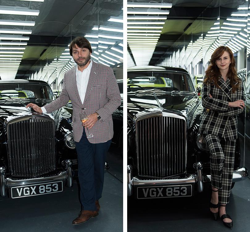 Светская хроника: премьера новых моделей Bentley на выставке Bentley. Be Extraordinary. Николай Усков. Юлия Прудько