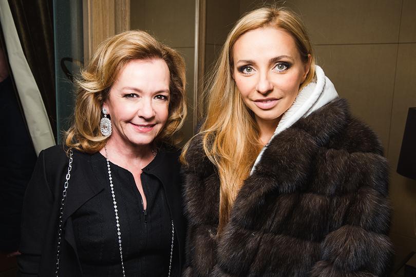 Каролина Шойфеле и Татьяна Навка