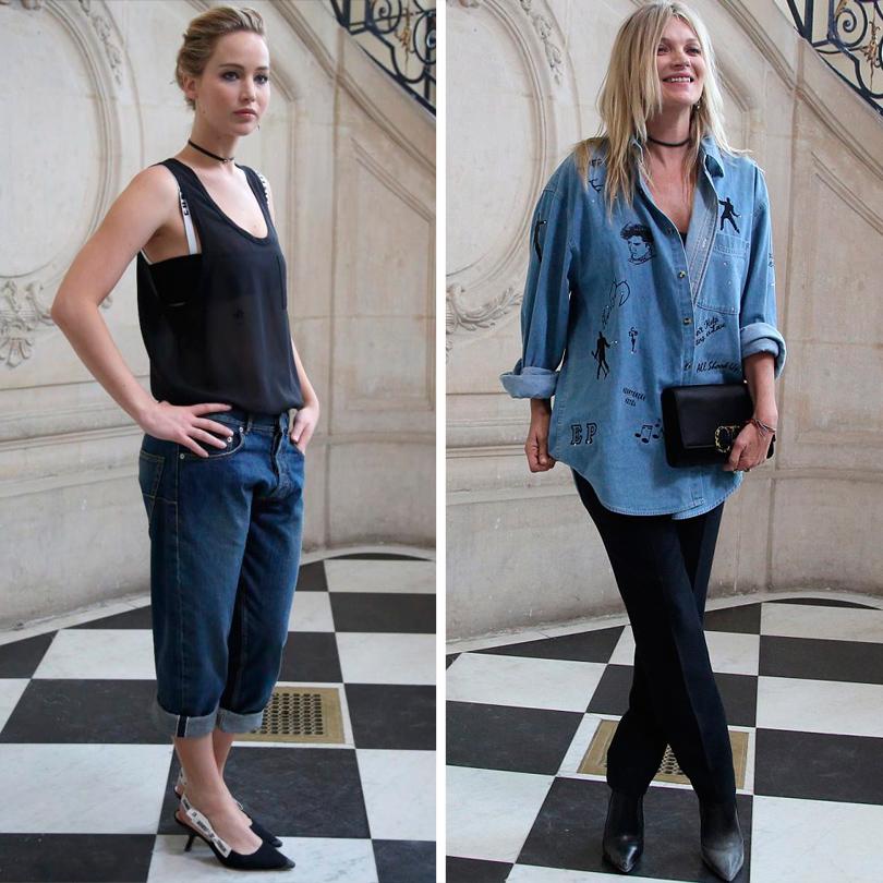 Style Notes: первая коллекция Марии Грации Кьюри для Dior. Дженнифер Лоуренс, Кейт Мосс