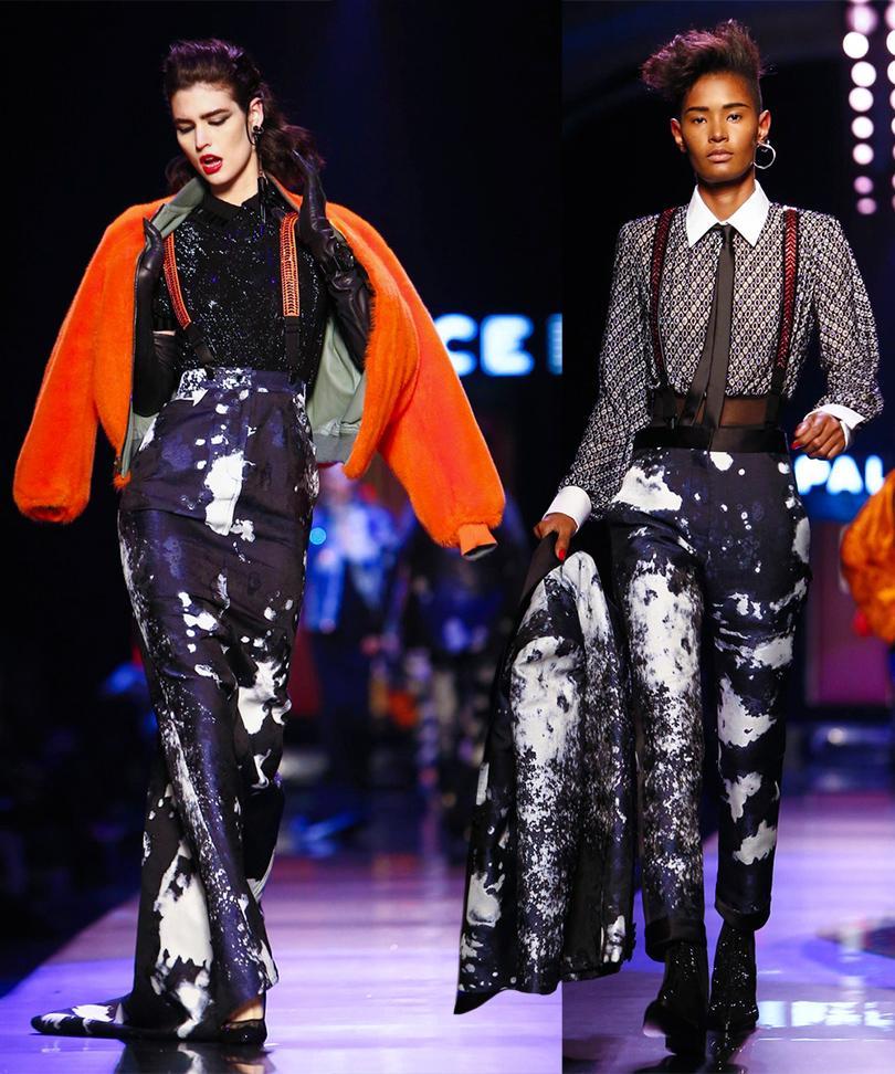 Показ Jean Paul Gaultier на Неделе высокой моды в Париже