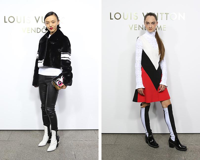 Открытие бутика Louis Vuitton наВандомской площади. Рила Фукусима. Рэффи Кэссиди