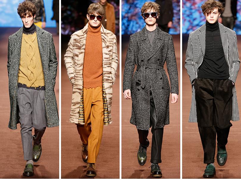 Первый план — лучшие показы на Неделе мужской моды в Милане: Etro