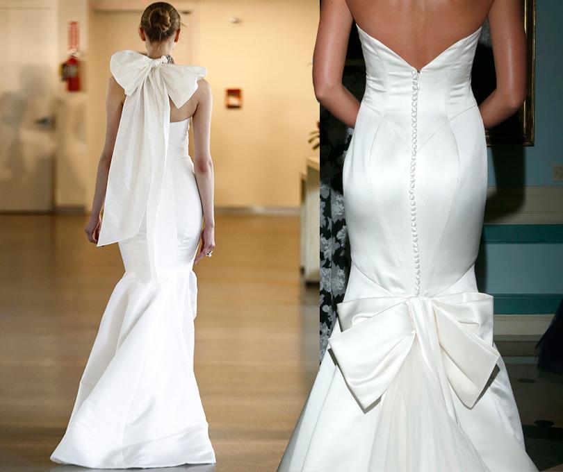 Wedding & More: 6 актуальных трендов с Недели свадебной моды в Нью-Йорке. Платья Lela Rose, Truly Zac Posen